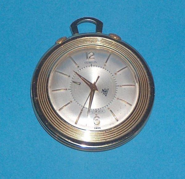 1491: Gubelin LeCoultre Memovox Alarm Pocket Watch