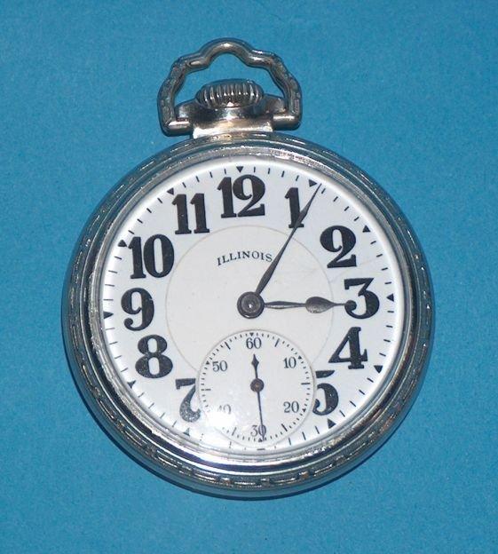 1496: Illinois 21 jewel Bunn Special Pocket Watch
