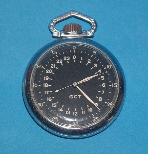 1497: Elgin B. W. Raymond U S Army Pocket Watch