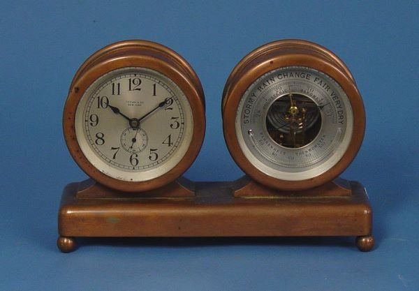 1504: Tiffany & Co. Chelsea Clock Barometer