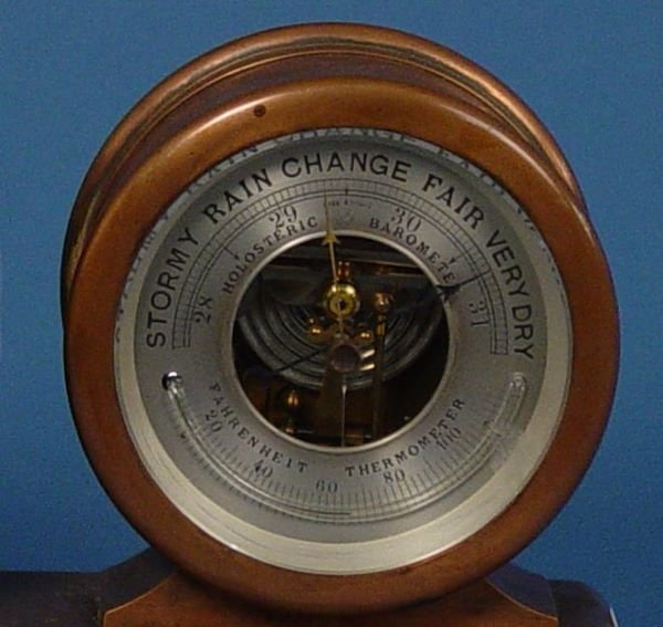 1504: Tiffany & Co. Chelsea Clock Barometer - 3