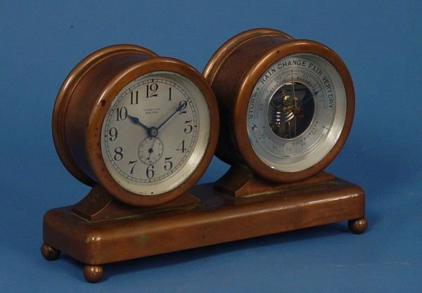1504: Tiffany & Co. Chelsea Clock Barometer - 4