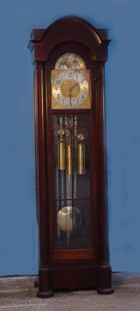 1764: Herchede Revere 5 Tube Grandfather Clock