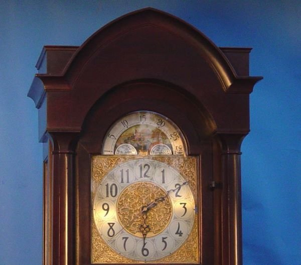 1764: Herchede Revere 5 Tube Grandfather Clock - 2