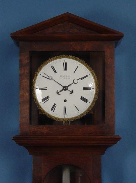 1800: Laterndluhr Vienna Regulator Wall Clock - 2