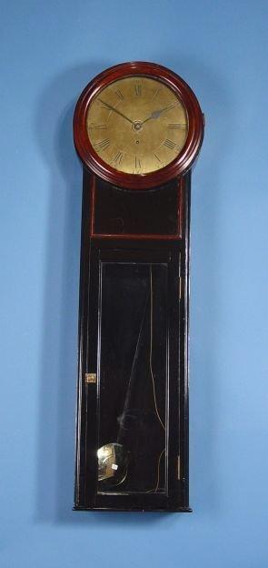 1806: Large English Wall Clock
