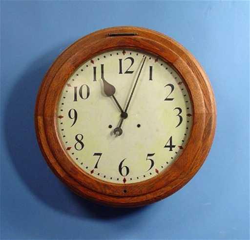 1857 24 Inch Seth Thomas Gallery Wall Clock