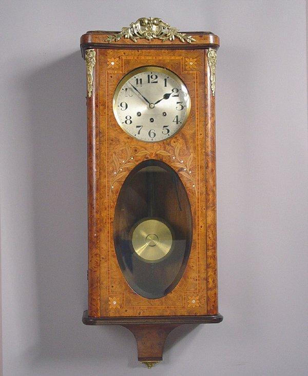 1: Gustav Becker Burlwood Wall Clock