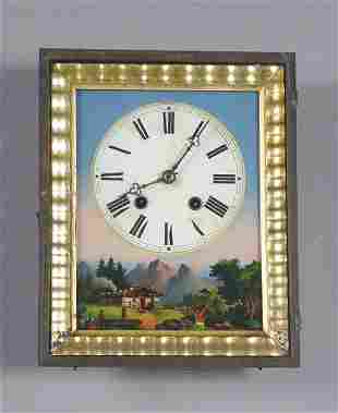 Antique Black Forest Wall Clock