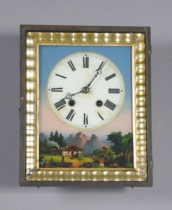 3: Antique Black Forest Wall Clock