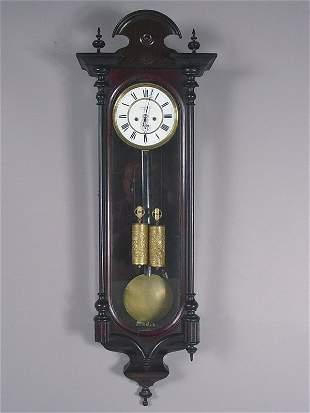 Anton Koll, Wien Antique Wall Clock