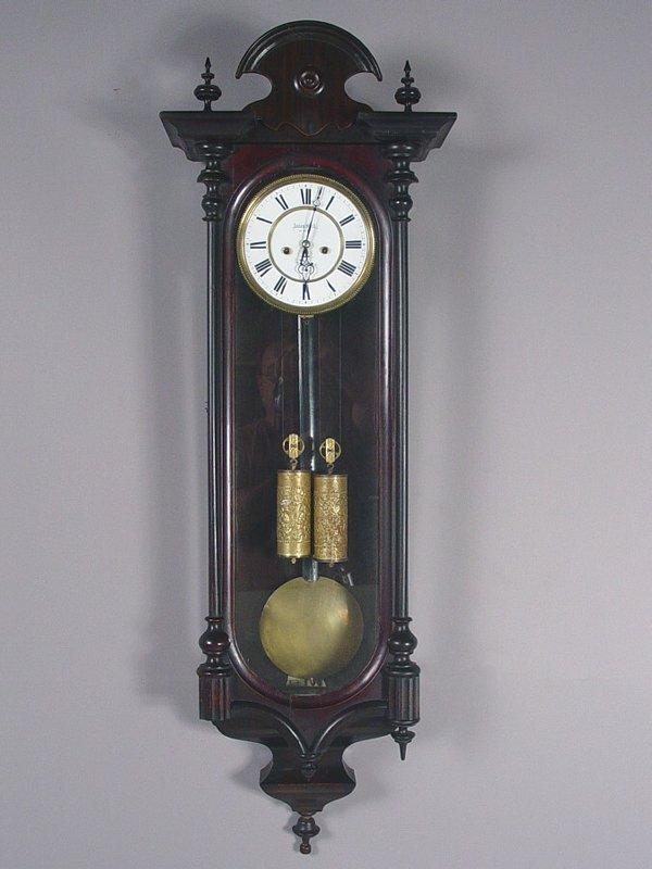 5: Anton Koll, Wien Antique Wall Clock