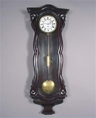 Hanns Geiel, Wien Antique Wall Clock
