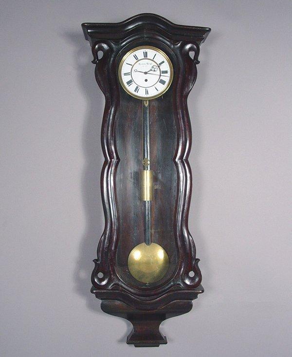 6: Hanns Geiel, Wien Antique Wall Clock