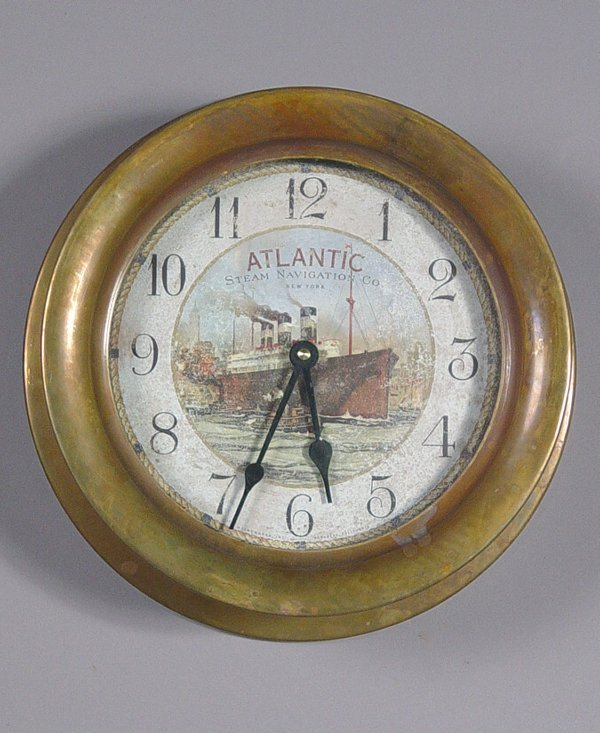 10: Timeworks, Berkley, Ship's Clock repro