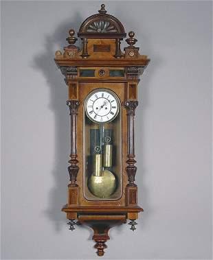 Antique Wall Regulator Clock