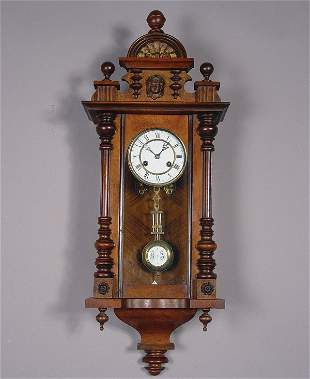 Junghans Antique Regulator Wall Clock