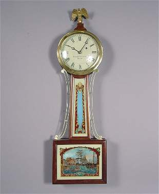 Chelsea Antique Weight Banjo Wall Clock