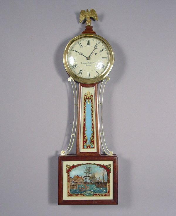 16: Chelsea Antique Weight Banjo Wall Clock