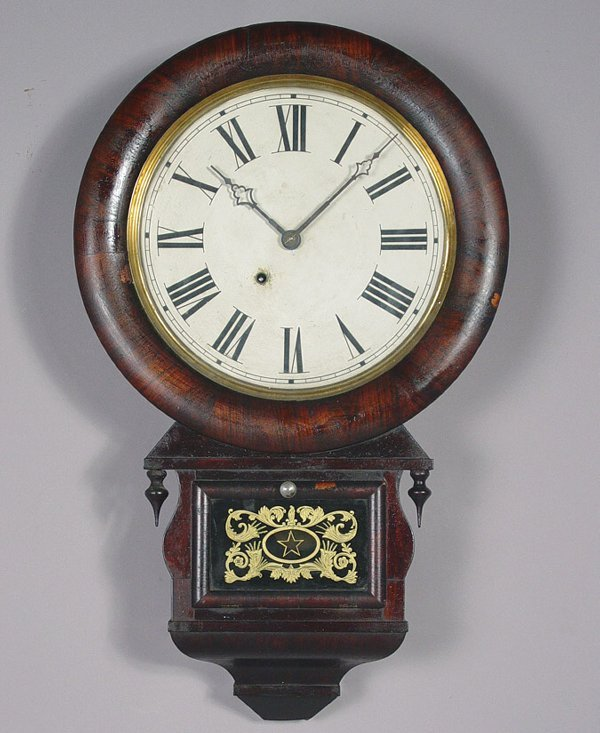 20: Ansonia Antique Rosewood Wall Clock