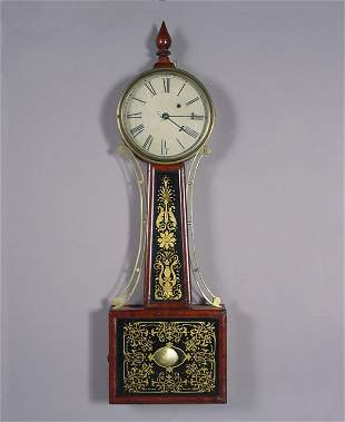 Antique Banjo Wall Clock ca. 1825