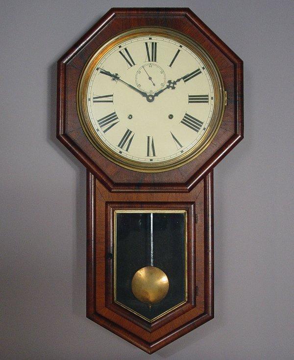 23: E.N. Welch Verdi Antique Wall Clock
