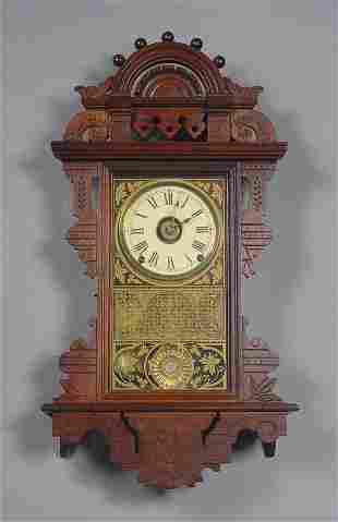 Seth Thomas Antique Wall Clock Eclipse