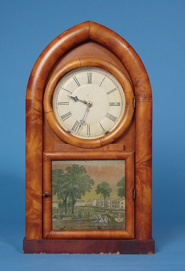 43: D. S. Crosby Antique Beehive Clock