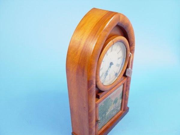 43: D. S. Crosby Antique Beehive Clock - 6