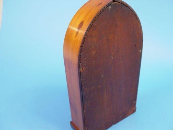 43: D. S. Crosby Antique Beehive Clock - 7