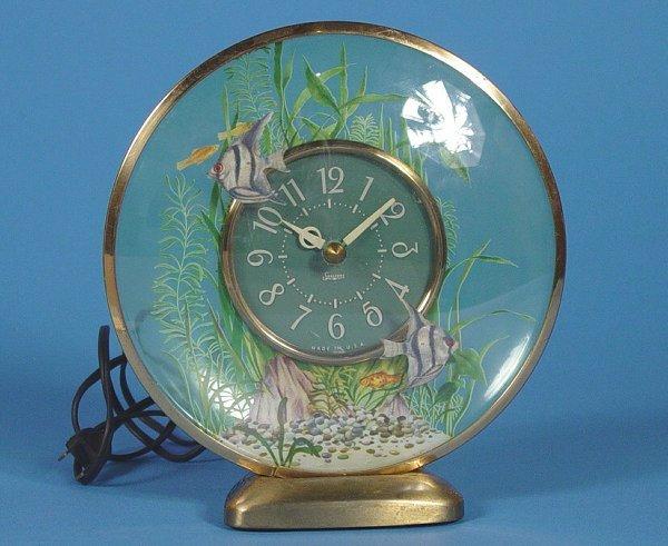 191: Sessions Aquarius Animated Fish Clock