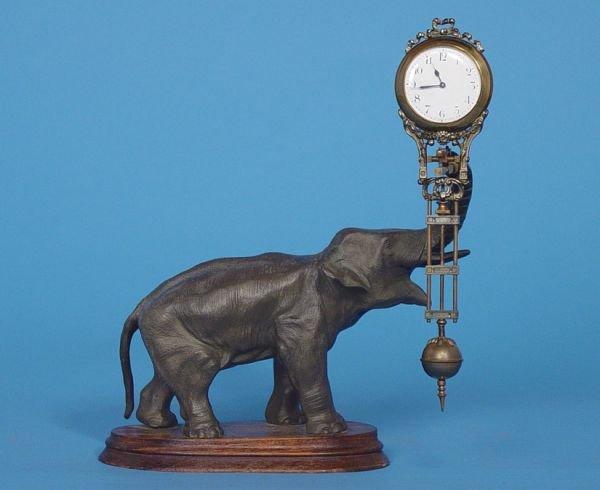 234: Junghans Mystery Swing Arm Clock
