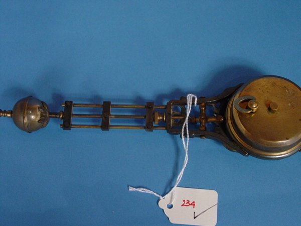 234: Junghans Mystery Swing Arm Clock - 5