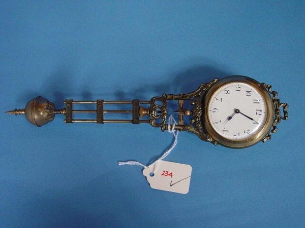234: Junghans Mystery Swing Arm Clock - 6