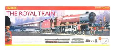 A Hornby 00 gauge model railway trainset boxed set No