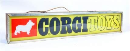 A rare original 1960s  70s Corgi Toys advertising