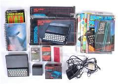 An original boxed Sinclair ZX81 video games computer