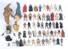 A collection of assorted Kenner and Hasbro made Star