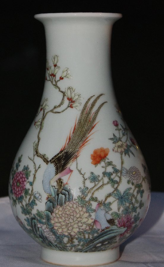 Extremely Fine and Rare Chinese Famille Rose Porcelain