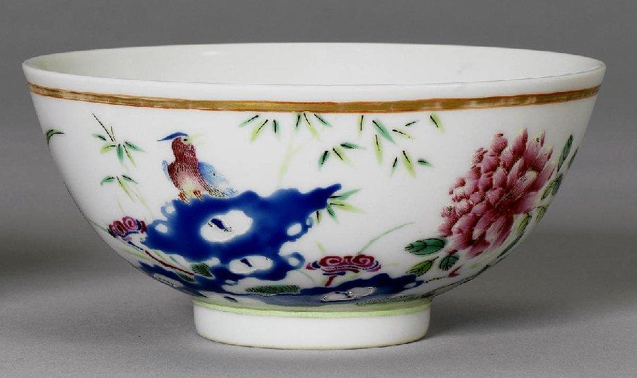 Good Quality Chinese Porcelain Bowl, marked Guangxu