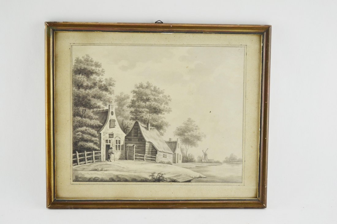 Drawing 18th century