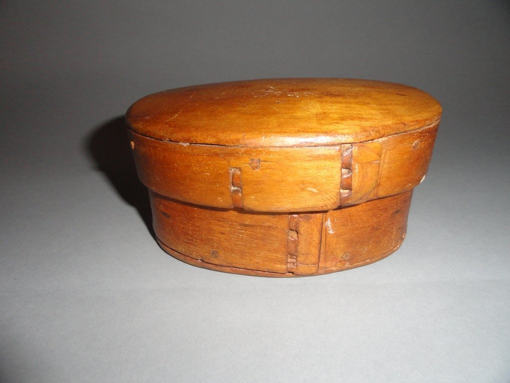 Bent wood trinket box