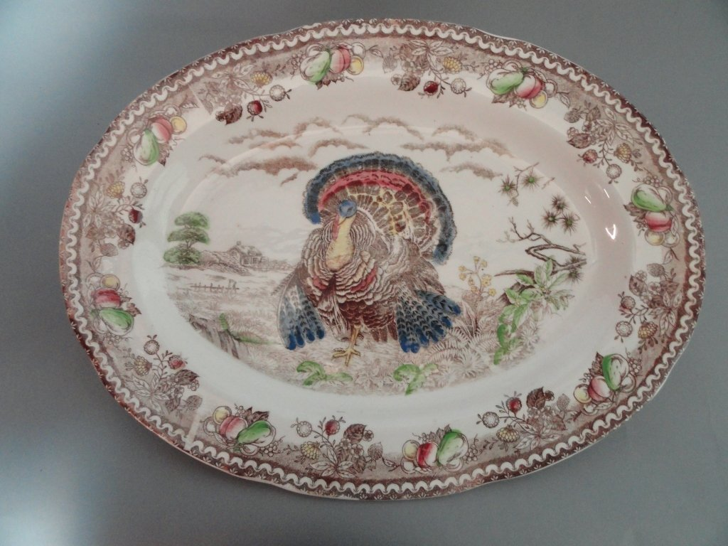 Large Turkey Serving Platter
