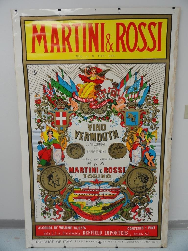 Martini and Rossi Poster