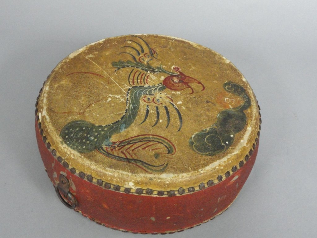 19th Century Temple Drum