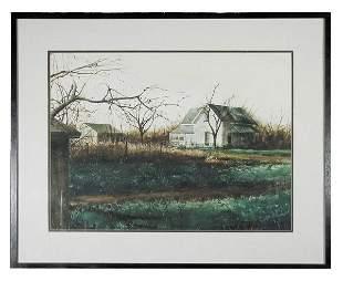 Mark Stewart, Watercolor on Paper