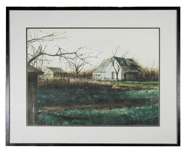 1001: Mark Stewart, Watercolor on Paper