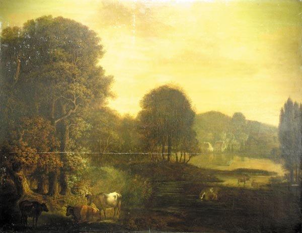 1002: Italian School Artist, Landscape