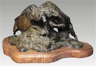 "Jeff Wolff, ""The Settlement"" Bronze"