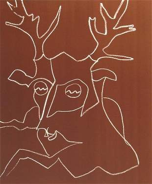 Charles Lapicque, Signed Lithograph